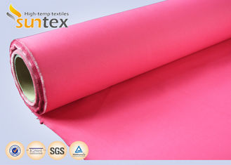 16oz Acrylic Coated Fiberglass Fabric Roll For Fire Blanket Fireproofing Curtain OEM colors