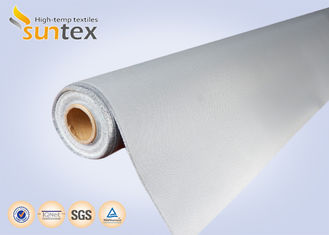 0.4mm High Durability Fire Resistant Fiberglass Fabric Soft Polyurethane (PU) Coated