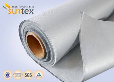 510g Single Side Silicone Coated Fiberglass Fabric For Welding Blanket