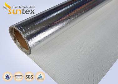 Good Quality Aluminum Foil Coated Cloth Laminated Roll Fireproof Fiberglass Fabric
